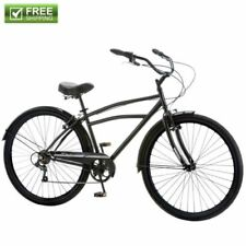 "Schwinn Cruiser Bike 29"" Black Comfort Men's Bicycle City Beach Ride Shimano NEW"