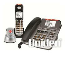 UNIDEN SSE47+1P CORDED & CORDLESS DIGITAL WITH ALERT PENDANT PHONE SYSTEM