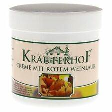Horse Chestnut With Red Vine Leaves Massage Cream For Tired Aching Legs 250ml