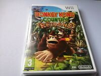 Donkey Kong Country Returns (Nintendo Wii, 2010) NEW FACTORY SEALED