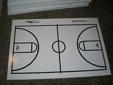 NEW Basketball Court Dry Erase Board for Coaching - Draw Plays Free Shipping!