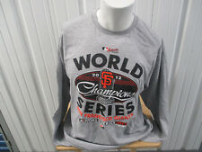 VINTAGE MAJESTIC SAN FRANCISCO GIANTS LARGE LONG SLEEVE SHIRT 2012 WORLD SERIES
