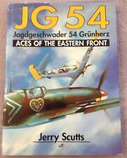 JG 54, Jagdgeschwader 54 Grunherz:Aces of the Eastern Front by Jerry Scutts 1992