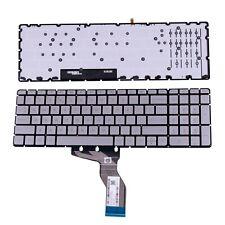 New listing Us New For Hp Pavilion 15-Bc010Nr 15-Bc018Ca 15-Bc047Cl 15-Bc100 Keyboard Silver