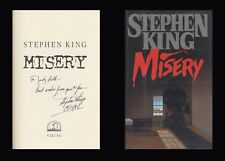 STEPHEN KING Autographed Inscribed Signed Book Misery