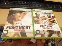 Fight Night Round 3 & Round 4  Boxed Bundle Boxing  Xbox 360 PAL FREEPOST XMAS