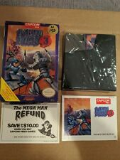 Mega Man 3 Complete in Box Nintendo NES