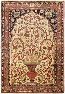 Antique Traditional Lavar Meditation Rug, in Small Size, with FREE SHIPPING!!!