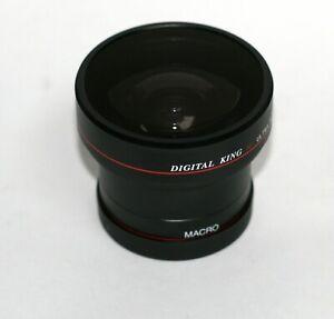 Digital King Fish Eye Conversion Lens 52mm
