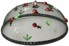 Woodard & Charles Round Lady Bugs Food Domes, 14-Inch