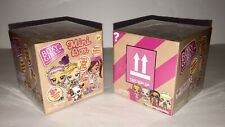 X2 Mini Boxy Girls Surprise Box Crate - 1 Mini Doll & 1 Pet + 8 Crate Boxes Each