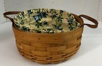 LONGABERGER BASKETS Darning 1550 Handwoven 1997 Collectible Basket