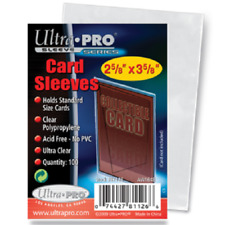 Ultra Pro Soft Sleeves Series 100 Pack Collectable Cards Sleeve Protector New