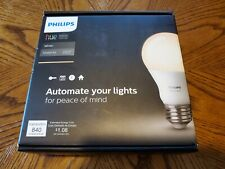 LOT OF 2 SEALED Philips Hue A19 60W Dimmable LED Smart Bulb Starter Kit with HUB