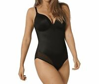 Triumph True Shape Sensation BSWP Underwired Padded Bodysuit Black 34B CS