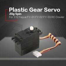 20g Servo 5pin Plastic Gear for 1/12 Feiyue FY-01 FY-02 FY-03 RC Car Truck 6L