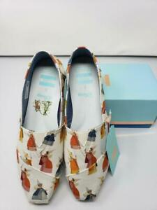 NIB New in Box Toms Sleeping Beauty Flora Fauna Merryweather size 9.5 shoes