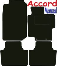 Honda Accord Manual only DELUXE QUALITY Tailored mats 2004 2005 2006 2007 2008
