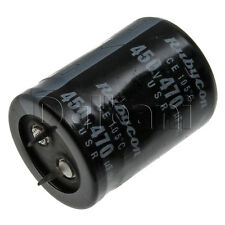 New Snap In 2 Pin Capacitor 450V 470UF 30mm Diameter 40mm Height