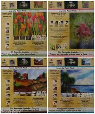 Lot of 4 Donna Dewberry Learn to Paint Packs Patterns Transfer Paper Worksheets