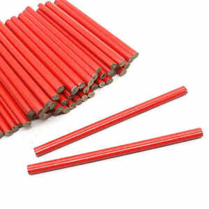12 NEW CARPENTERS PENCILS JOINERS WOODWORK BUILDERS SOFT LEAD WOOD MARKING