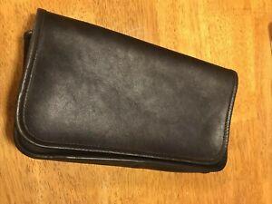 Coach Brown Leather Vintage Bag Pouch