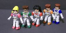 Custom minimate set of  CLASSIC VOLTRON FORCE   (5 Member Lion team)