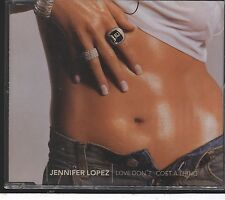 Jennifer Lopez - Love Don't Cost A Thing CD (single) with stickers
