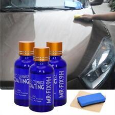 3pack Nano Ceramic Pro 9H Car Glass Coating Liquid Hydrophobic Anti Scratch Care