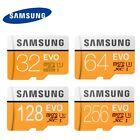 SAMSUNG 32GB 64GB 128GB 256GB Micro SD SDHC Micro SDXC TF Card Class10 EVO CA