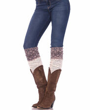 Over the knee socks thigh high crochet lace Pointelle scrunch sock new fashion