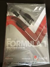 Official Programme- Formula One (F1) SINGAPORE GRAND PRIX 2011 Brand New