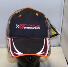 CHECKERED FLAG NASCAR DODGE MOTORSPORTS REALTREE CAMOUFLAGE PIT HAT CAP NWT