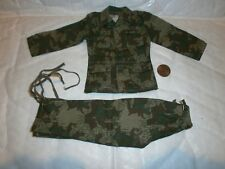1:6 Scale Dragon WWII German Splinter Camo Uniform shoulder pants may vary