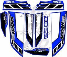 yamaha banshee full graphics kit special edition blue