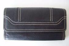 WILSONS LEATHER Clutch Wallet Black