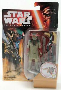 "Star Wars Force Awakens Constable Zuvio Desert Mission 3.75"" Action Figure Toy"