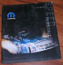 2004 Mopar Performance Catalog Essentials MoPowered Cuda GTX HEMI 440 383 Speed