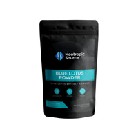 Blue Lotus (5g) Highest Quality Organic Extract Powder - Nootropic Source