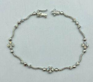 Stunning 18ct White Gold 63pt VS2 Diamond Ladies Bracelet.  Goldmine Jewellers.
