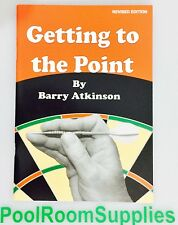 Getting to the Point Barry Atkinson Game instruction Trivia Dart Board RULE BOOK
