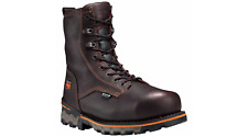 """New Men's 1158A TIMBERLAND PRO Boondock 8"""" composite toe insulated work Boots"""