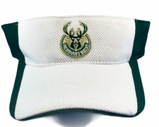 Milwaukee Bucks NBA Adidas Adjustable Visor Brand New