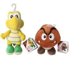 Goomba & Koopa Troopa Plush (set of 2) Super Mario All Star Collection by Sanei