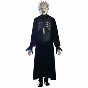 Deluxe Pinhead Hellraiser Mask Robe Latex Chest Large Adult Halloween Costume