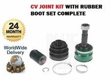 FOR NISSAN PRIMERA P11 1996-> ABS CONSTANT VELOCITY CV JOINT KIT + RUBBER BOOT