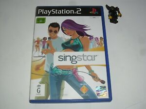 SingStar - Sony PlayStation PS2 - PAL format - Complete