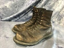 Red Wing 953 Mens Brown Leather SuperSole lace up Grunge Work Boots sz 9 E2