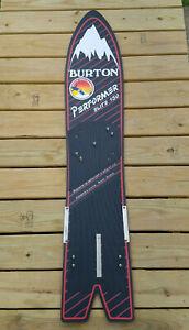 Vintage Burton Performer Elite 150cm 1985 Snowboard Swallow Tail NICE