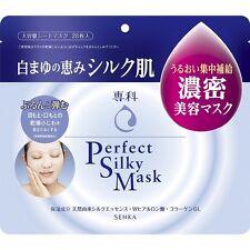 Shiseido SENKA Perfect Silky Mask 28 Sheet Moisturizing Essence Made in Japan FS